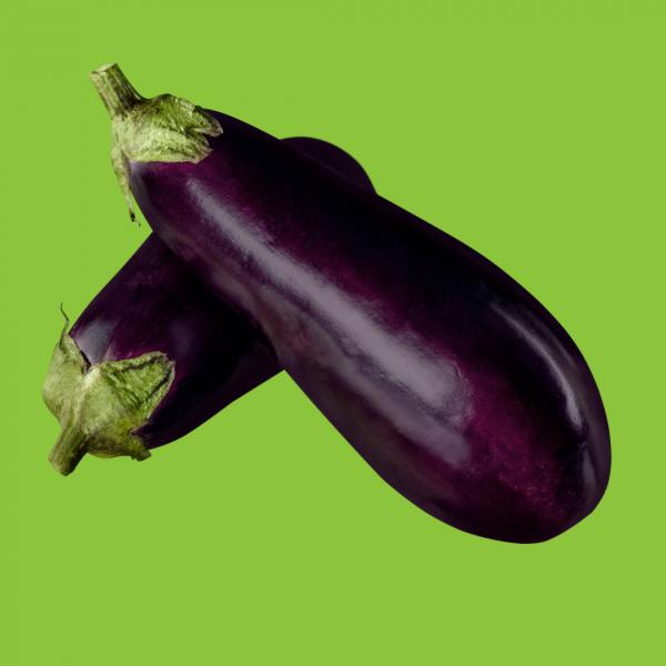 aubergine longue